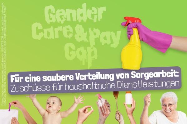 Unterschriften eingereicht – Gender Gaps bekämpfen