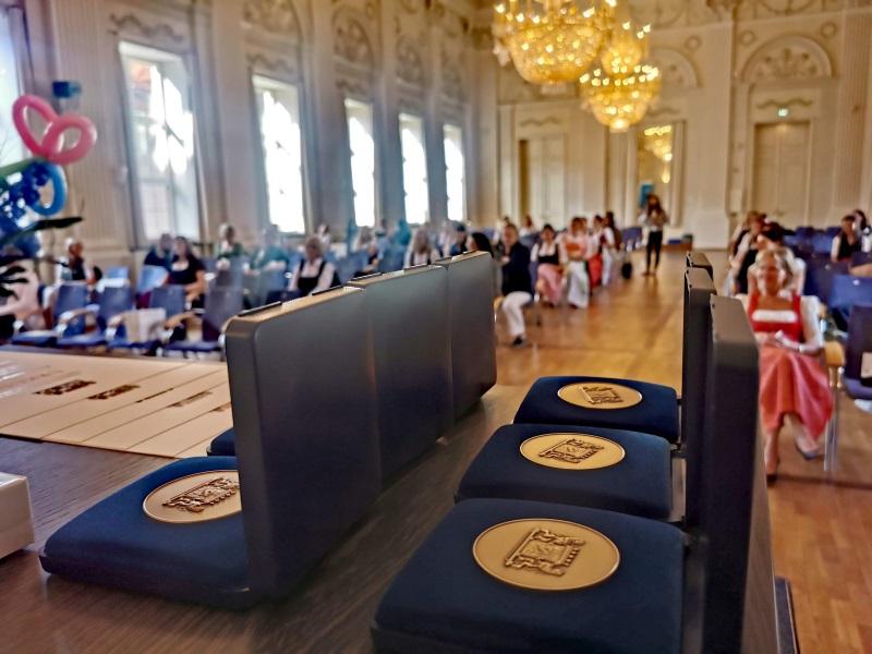 Meisterbriefe im Schloss verliehen